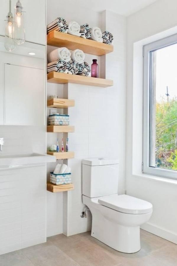Rectangular Concrete [Bathroom] Rustic Bathroom For Bathroom Redesign Inspirations: Triple Light Wall Mount Vanity Lamps