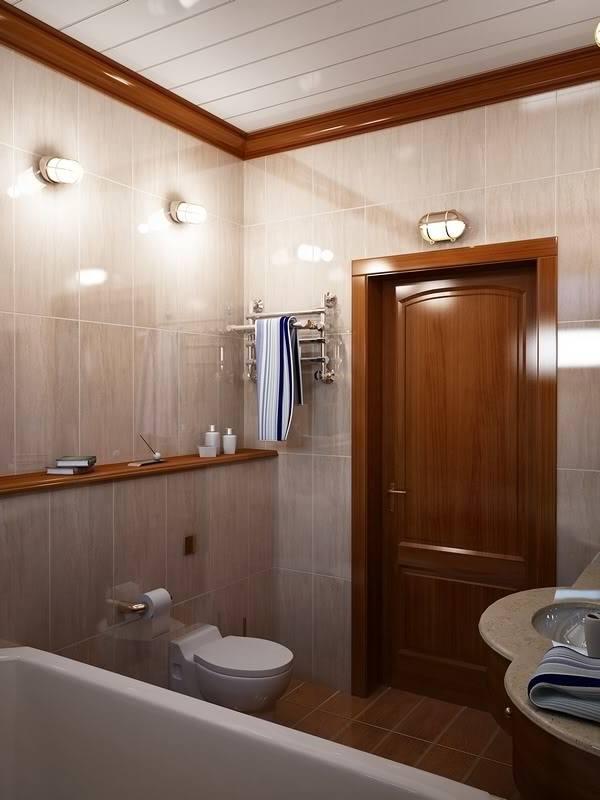 Towel Rod Behind the Toilet