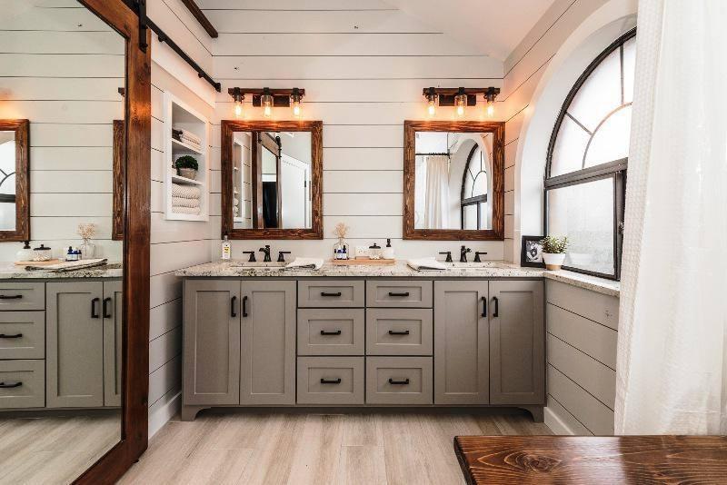 [Bathroom Design] Farmhouse Bathroom Small Modern
