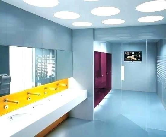 Ladies room bathroom makeover