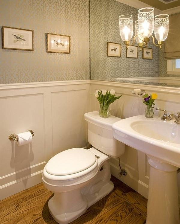 Modern Half Bathrooms Ideas To Makeover Home Design Along With throughout half bathroom ideas for small
