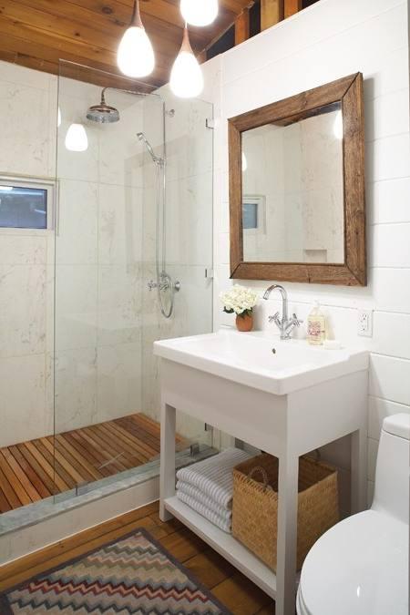 spa style bathroom