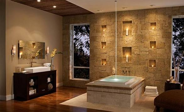 33 Stunning Pictures And Ideas Of Natural Stone Bathroom Floor Tiles regarding The Awesome natural stone