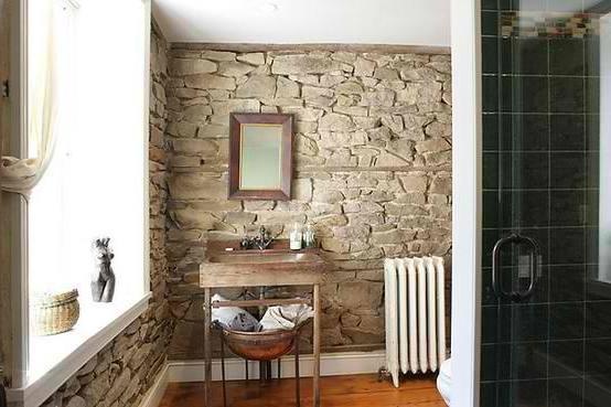 stone bathroom ideas