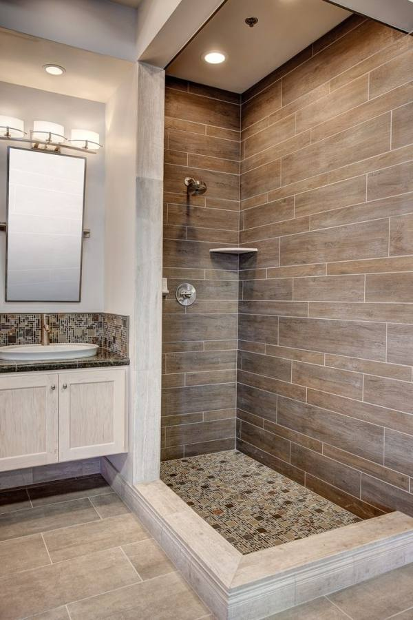 [Newest Bathroom Design] Dark Grey Bathroom Timber