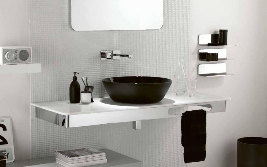 Black And Brown Bathroom Ideas M Black Laminated Wooden Bathroom Vanity Blue Purple Bathroom Ideas Black Rectangular