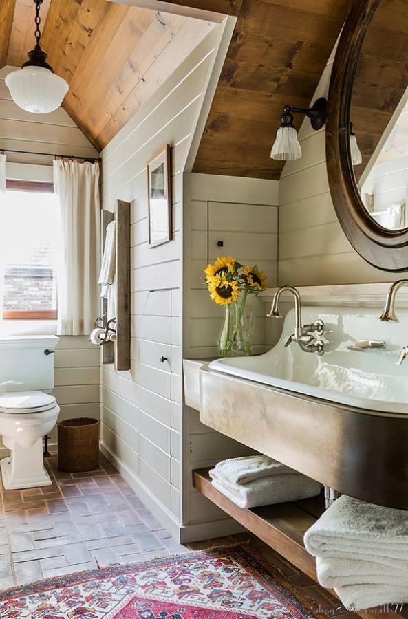 rustic modern bathroom ideas plain rustic small rustic bathroom ideas brick wall style diy wood