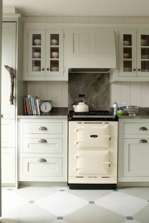 Terrific Kitchen Decoration With Light Green Kitchen Cabinet : Contempo Kitchen Design Ideas With Light Green