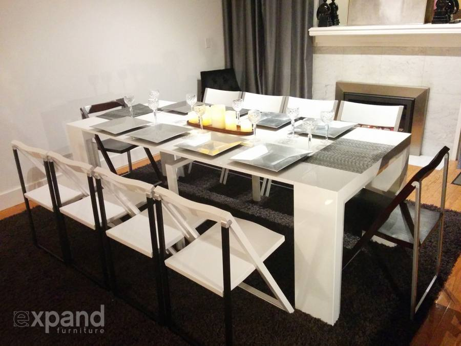 interior design small glass dining table