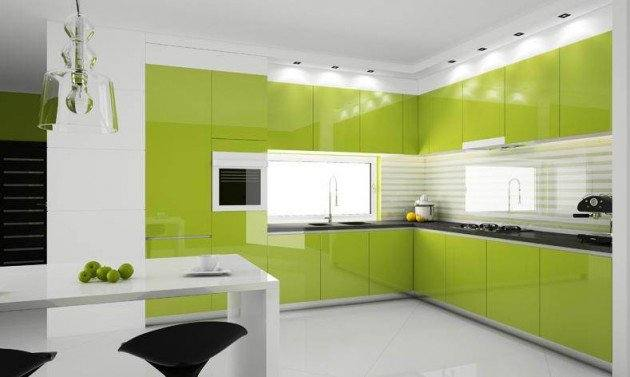 Interesting Decoration Green Kitchen Paint 30 Best Colors Ideas For Popular Astonishing Design