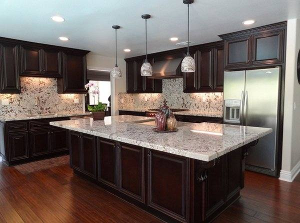 Here we discuss the most popular granite colors in kitchen countertops with pictures