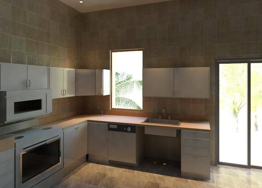 revit kitchen