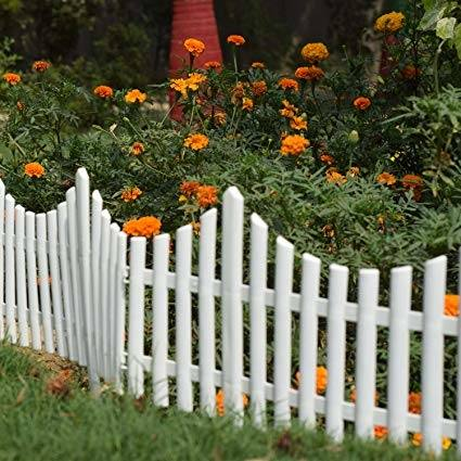 fence decorating ideas outdoor