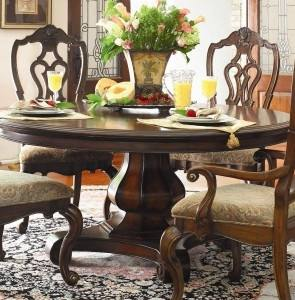 Round kitchen table by Progressive Furniture Muses 48 in