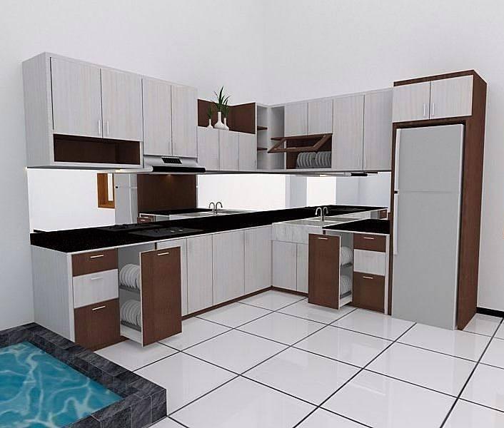 modern kitchen room 3d model max obj mtl fbx 1