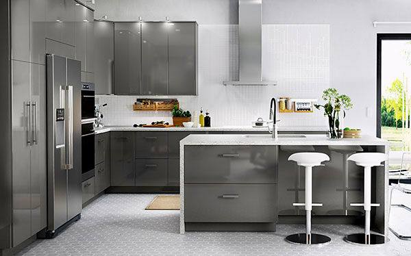 Kitchen Modest Ikea Kitchens Photos With Regard New Small