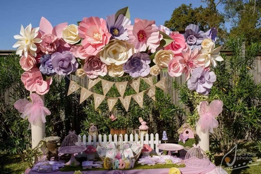Garden Decoration For Birthday