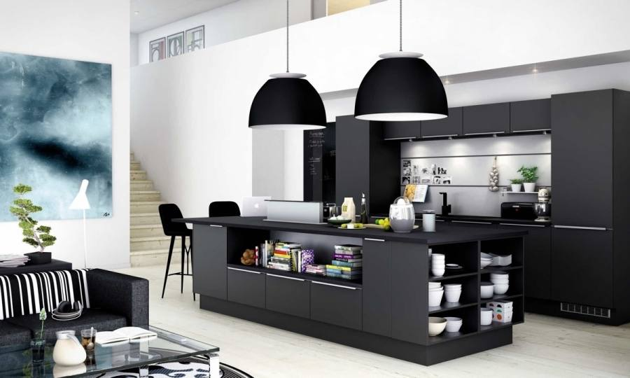 Pretty Black Kitchen Design Ideas 15 Bold And Designs On Home