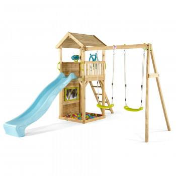 Heavy Duty Deacon Swing and Slide Set (1)