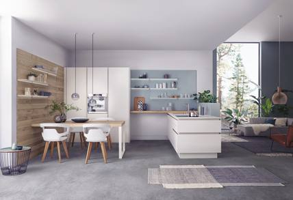 A new, thrilling, customisation experience using all the materials, colours and designs studied by Valcucine's Style Department