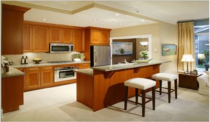 Ergonomics kitchen design