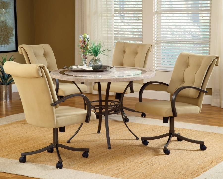dining table with caster chairs rolling chairs dining set kitchen table with rolling chairs dining table