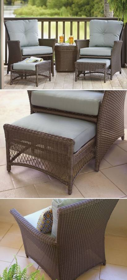 The rattan effect set is €199