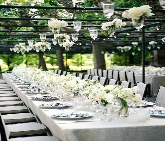 garden wedding decoration ideas outside wedding decorations
