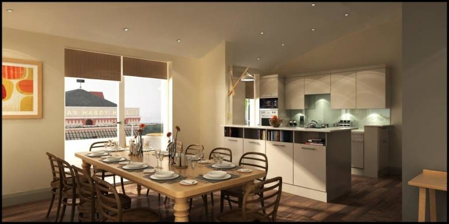 Awesome Kitchen Dining Room Decorating Ideas Images Design And intended for Kitchen Dining Room Ideas