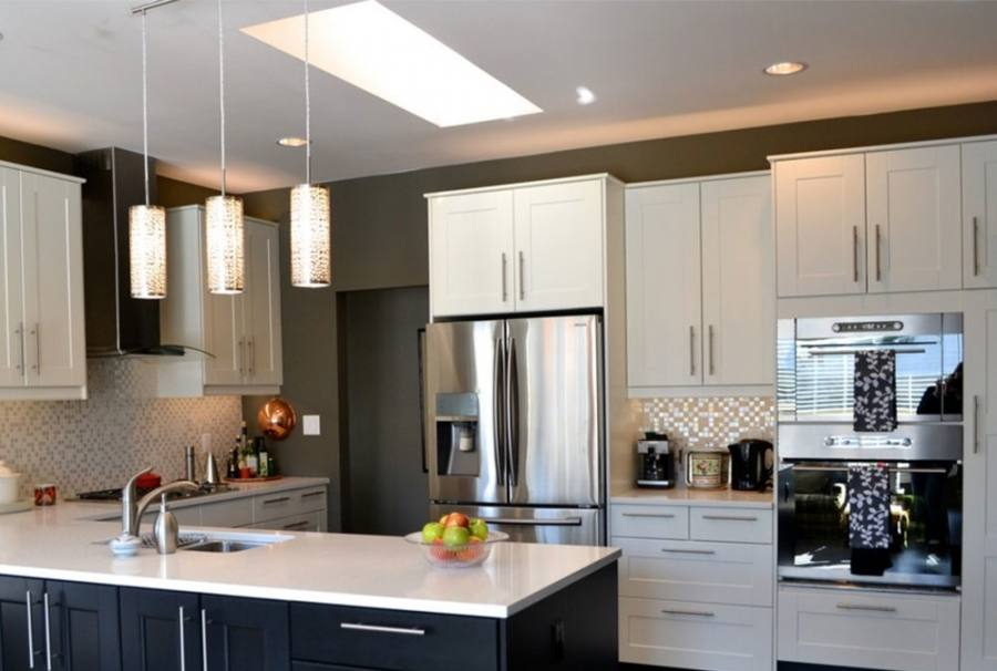 model home kitchens small
