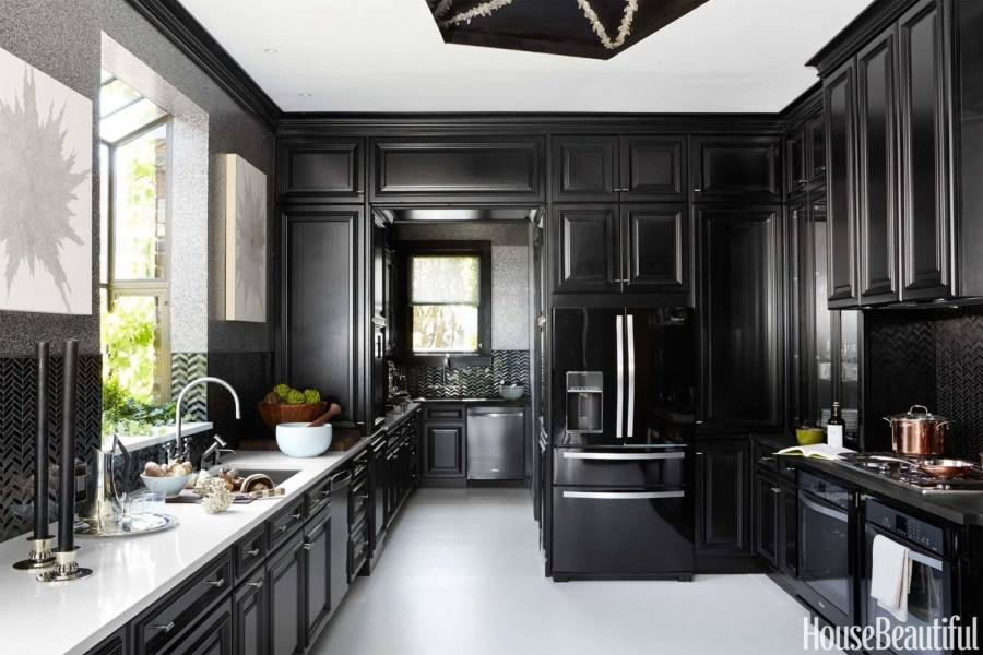 Mesmerizing Kitchen Design Ideas With Black