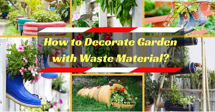 How to Decorate Garden with Waste Material Lovely Use Household Waste to Decorate Your Garden Slide