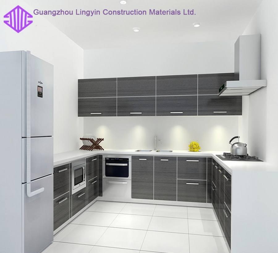 White Acrylic Kitchens