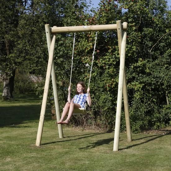 Buy Plum Silverback Wooden Garden Swing Set at Argos
