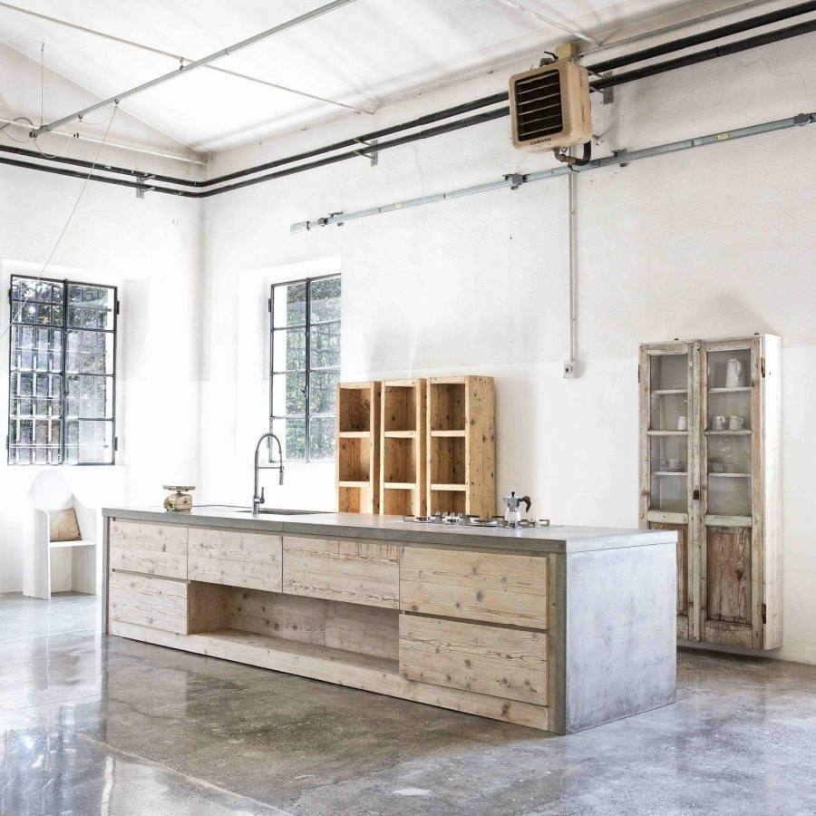 Hardwood Kitchen Cabinets, Custom Built