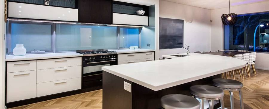 Unlike in other rooms of the house, overhead lighting is insufficient in kitchens, says electrician Richard Terode