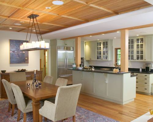 modern kitchen and dining room design modern l shaped kitchen and dining space in shades of