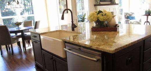 Epic Image Of Kitchen Design And Decoration Using Grey Granite Counter Tops : Good Looking U