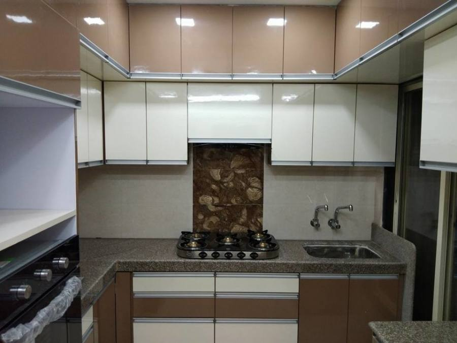 Kitchen Designs from the Preston renovation with Caesarstone benchtops & emporite gloss paint finish