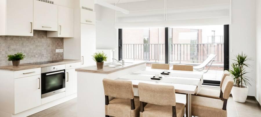 Design ideas for a contemporary kitchen in Hong Kong