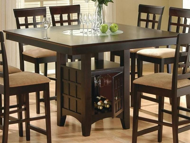 Furniture Decorative Cool Round Kitchen Tables 10 Table 6 Chairs Dining Room For Regarding Sets Elegant