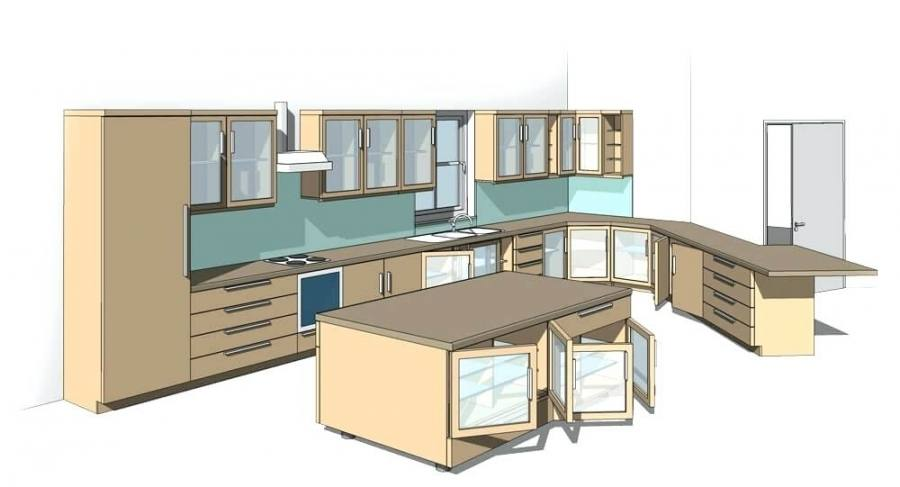 revit kitchen cabinets modern kitchen cabinets object kitchen cabinets revit models