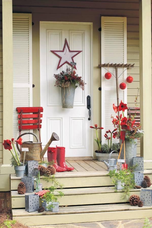 Christmas Garden & Patio Lighting Ideas