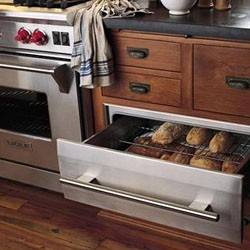 Pull out drawers could be used to store virtually anything