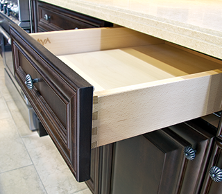 Love this contemporary kitchen and look at those drawers