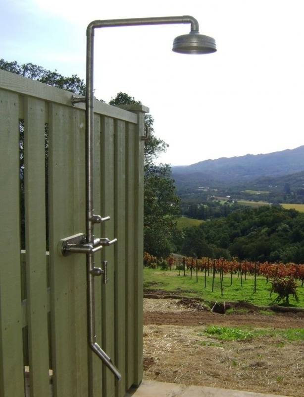 Sibella Court with Mon Palmer Outdoor Shower