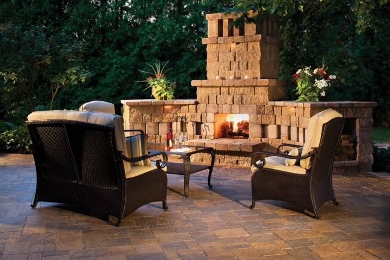 Is your main goal to beautify the outdoor space by adding this fireplace or