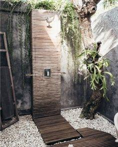 Bossini Aquabambu Outdoor Shower Column