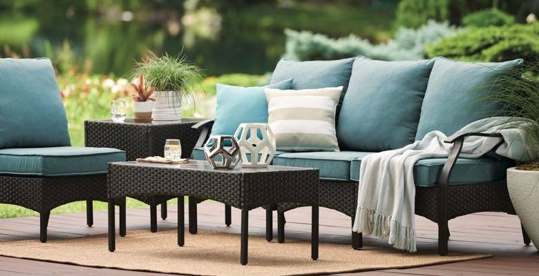 com's collection of outdoor furniture will transform your garden into a stylish haven