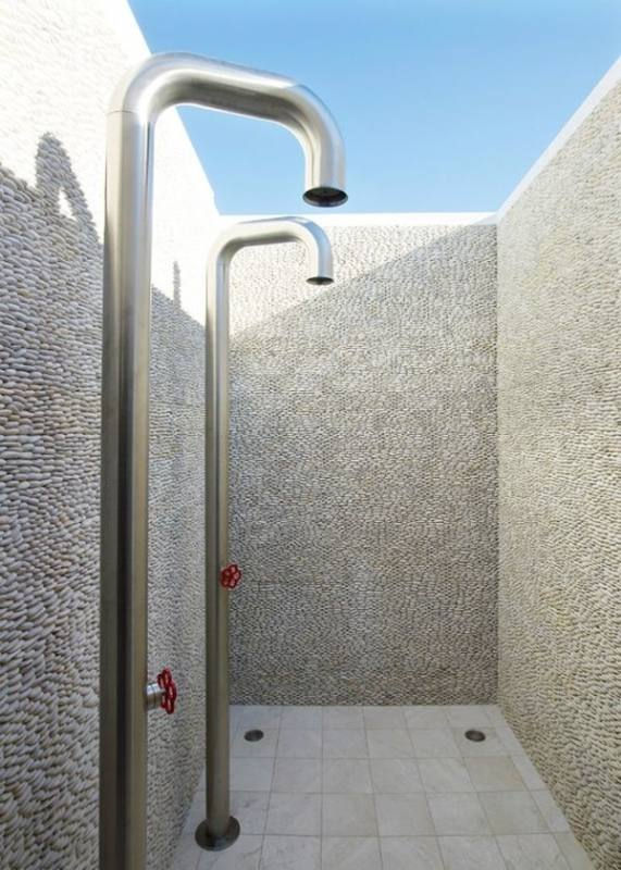 Long Island, NY Murdock Outdoor Shower at Long Beach,